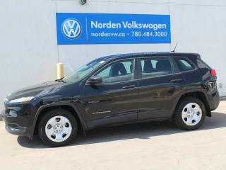 Used 2015 Jeep Cherokee SPORT - CLEAN CAR for sale in Edmonton, AB