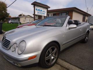 Used 1999 Mercedes-Benz CLK CONVERTIBLE for sale in L'ancienne-lorette, QC
