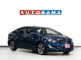 Used 2015 Hyundai Elantra LTD NAVIGATION LEATHER SUNROOF ALLOY WHEELS BACKUP for sale in North York, ON