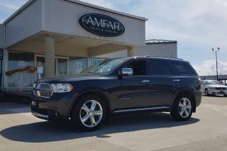 Used 2012 Dodge Durango Citadel / LOADED / NO PAYMENTS FOR 6 MONTHS !!! for sale in Tilbury, ON