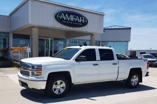 Used 2014 Chevrolet Silverado 1500 CREW / 4X4 / NO PAYMENTS FOR 6 MONTHS !! for sale in Tilbury, ON