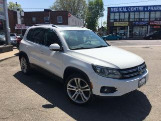 Used 2012 Volkswagen Tiguan Highline for sale in York, ON