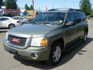 Used 2003 GMC Envoy SLT for sale in Parksville, BC