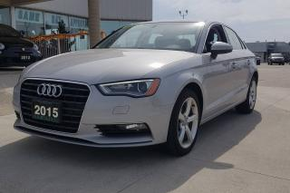 Used 2015 Audi A3 TDI / LEATHER / NO PAYMENTS FOR 6 MONTHS !!1 for sale in Tilbury, ON