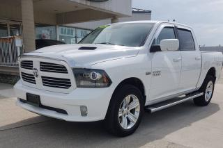 Used 2016 RAM 1500 Sport / CREW CAB / LOADED / NO PAYMENTS FOR 6 MONS for sale in Tilbury, ON