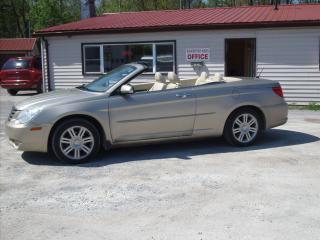 Used 2008 Chrysler Sebring Limited  for sale in Fenelon Falls, ON