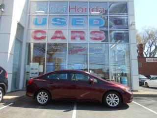 Used 2012 Honda Civic LX for sale in Halifax, NS