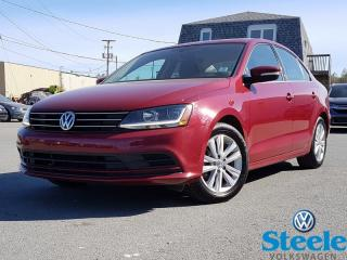 Used 2017 Volkswagen Jetta Wolfsburg Edition - VW CERTIFIED, Low mileage, fuel efficient for sale in Dartmouth, NS