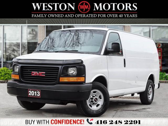 2013 GMC Savana 3500 4.8L*A/C*SHELVING*WONT LAST LONG!!*