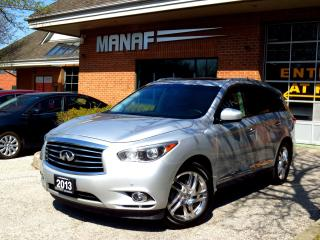 Used 2013 Infiniti JX35 AWD Tech PKG Navi Leather Sunroof CERTIFIED for sale in Concord, ON