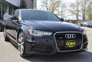 Used 2015 Audi A6 3.0L TDI Technik for sale in Oakville, ON
