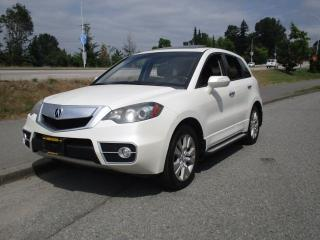 Used 2010 Acura RDX SH TURBO for sale in Surrey, BC