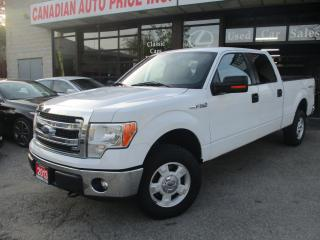 Used 2013 Ford F-150 XLT-4x4-SUPERCREWCAP-BLUETOOTH for sale in Scarborough, ON