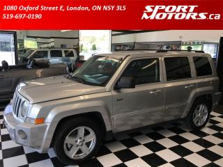 Used 2010 Jeep Patriot 4x4+New Tires & Brakes! Remote Start! Heated Seats for sale in London, ON