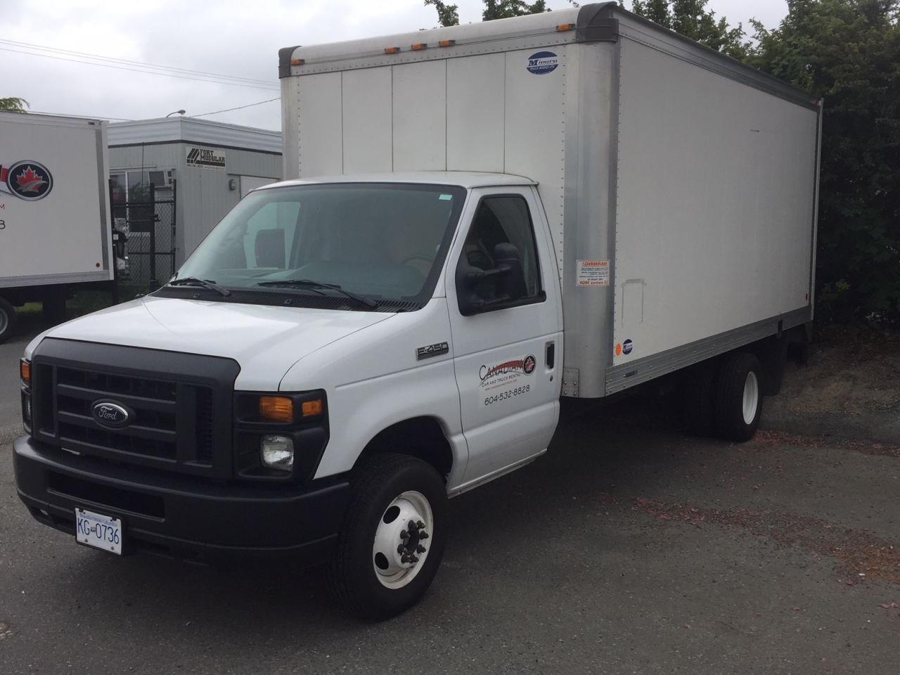 2016 Ford E-450 16 foot Box Van