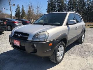 Used 2006 Hyundai Tucson GL AWD for sale in Gormley, ON