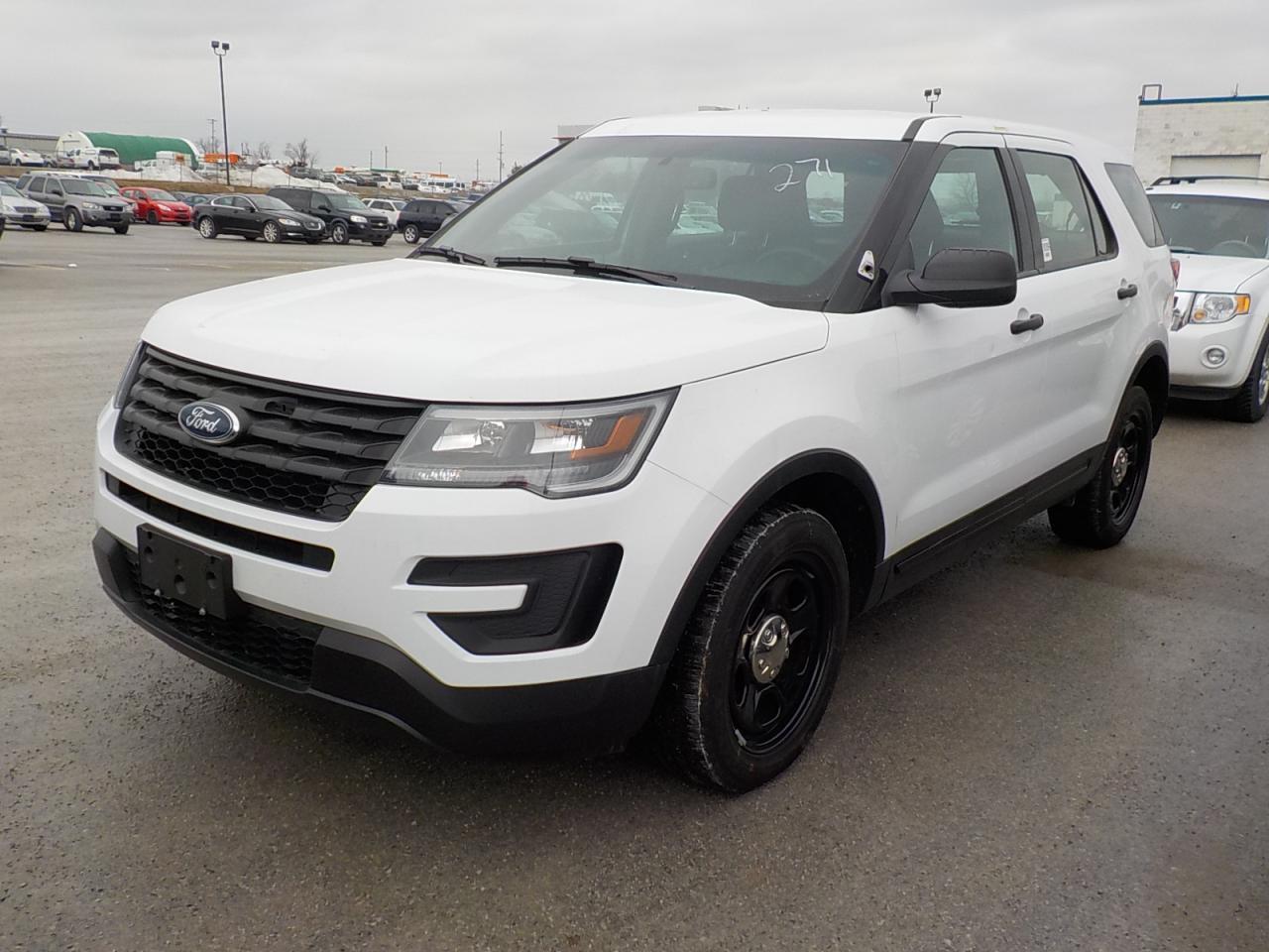 Photo of White 2017 Ford Explorer
