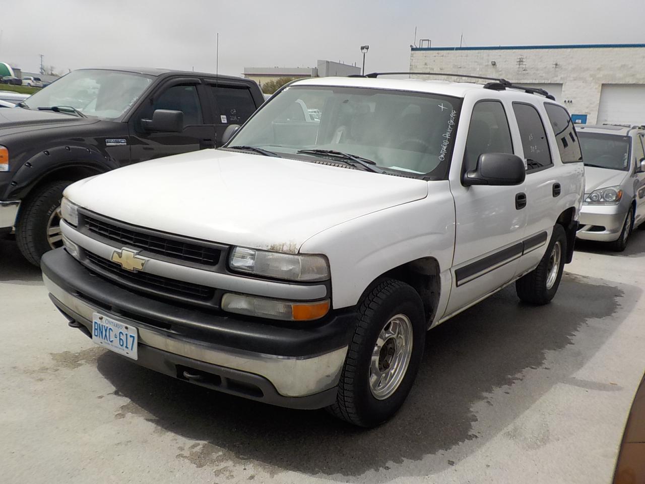 Photo of White 2005 Chevrolet Tahoe