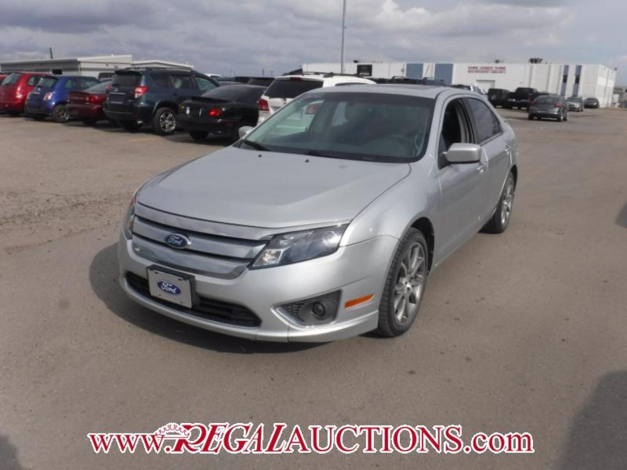 Photo of Silver 2012 Ford FUSION SE 4D SEDAN 2.5L