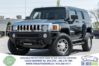 Used 2006 Hummer H3 H3 Premium Pkg. Leather + Sunroof for sale in Bolton, ON