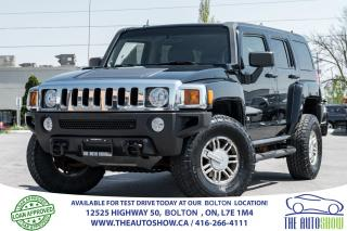 Used 2006 Hummer H3 H3 Premium Pkg. Leather + Sunroof for sale in Caledon, ON
