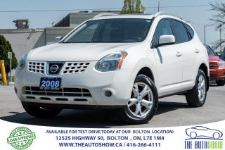 Used 2008 Nissan Rogue SL AWD PEARL WHITE SUNROOF for sale in Caledon, ON