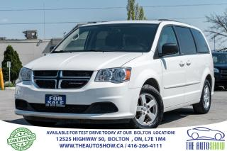 Used 2012 Dodge Grand Caravan SE DUAL STOW N GO ALLOYS for sale in Caledon, ON