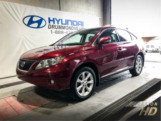 Used 2011 Lexus RX 350 AWD + COMFORT PACK + MAGS + CUIR + NAVI for sale in Drummondville, QC