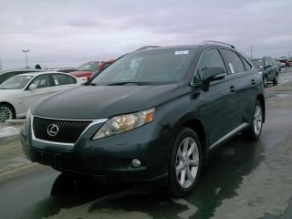Used 2010 Lexus RX 350 PREMIUM NAVI, BACK UP CAM for sale in Barrie, ON