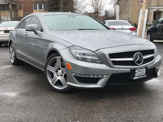 Used 2012 Mercedes-Benz CLS 63 AMG CLS 63 AMG for sale in Barrie, ON
