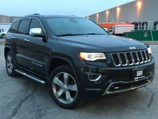 Used 2014 Jeep Grand Cherokee Overland for sale in Barrie, ON