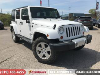 Used 2011 Jeep Wrangler Unlimited Sahara | HEATED SEATS | 4X4 for sale in London, ON