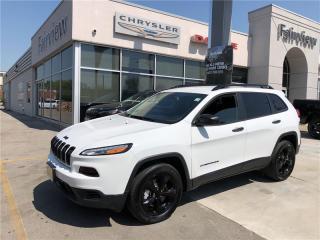 Used 2018 Jeep Cherokee Allitiude.. Black Wheels for sale in Burlington, ON
