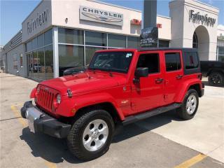 Used 2014 Jeep Wrangler Unlimited Sahara.Navi for sale in Burlington, ON
