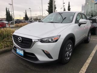 New 2019 Mazda CX-3 GX AWD with Apple Car play! Back up camera for sale in North Vancouver, BC