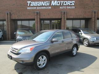 Used 2011 Honda CR-V EX-L | NO ACCIDENT | LEATHER | SUNROOF | AWD | BLUETOOTH for sale in Mississauga, ON