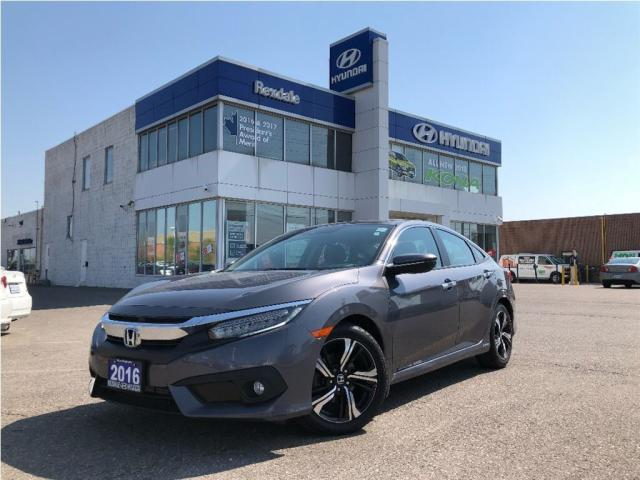 2016 Honda Civic Sedan Touring - Beautiful!!