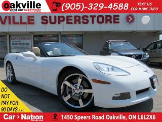 Used 2009 Chevrolet Corvette LEATHER | SOFT TOP | HUD | HTD SEATS | BOSE for sale in Oakville, ON
