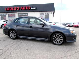 Used 2010 Subaru Impreza WRX WRX LIMITED AWD SUNROOF CERTIFIED 2YR WARRANTY for sale in Milton, ON
