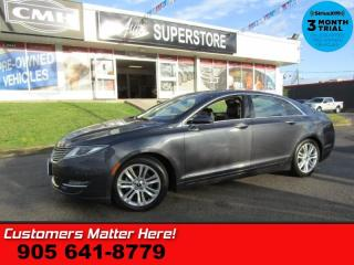 Used 2014 Lincoln MKZ Base  HYBRID NAV COOLED-SEATS PANO-ROOF PWR-TRUNK CAM MEM for sale in St Catharines, ON