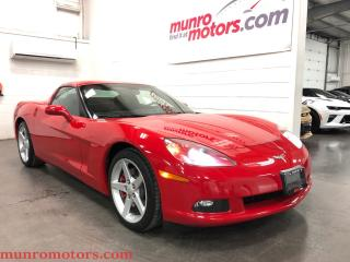Used 2006 Chevrolet Corvette Victory Red Automatic Low KMS for sale in St George Brant, ON