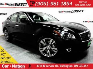 Used 2014 Infiniti Q70 3.7 Sport| AWD| NAVI| SUNROOF| for sale in Burlington, ON