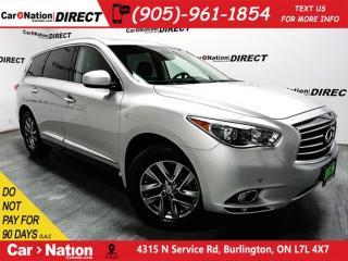 Used 2014 Infiniti QX60 | AWD| NAVI| SUNROOF| PARKING SENSORS| for sale in Burlington, ON