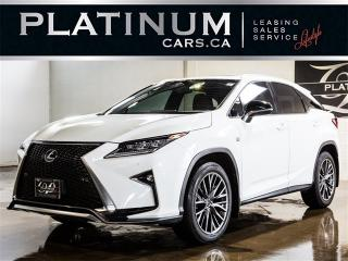 Used 2016 Lexus RX 350 F-SPORT, NAVI, CAM, RED LTHR, SUNROOF for sale in North York, ON
