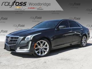 Used 2014 Cadillac CTS 2.0L Turbo Performance for sale in Woodbridge, ON