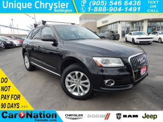 Used 2014 Audi Q5 2.0 Progressiv|LEATHER|HEATED SEATS AND MORE! for sale in Burlington, ON