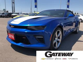 Used 2016 Chevrolet Camaro 2SS|CONVERTIBLE|V8|TWO TONE INT| for sale in Brampton, ON