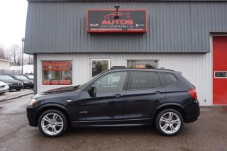 Used 2013 BMW X3 Xdrive35i M Package Xdrive for sale in Saint-romuald, QC