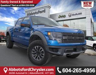 Used 2013 Ford F-150 SVT Raptor *ACCIDENT FREE* *LOCALLY DRIVEN* for sale in Abbotsford, BC