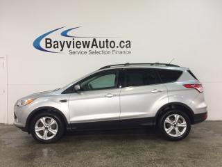 Used 2014 Ford Escape SE - ECOBOOST! KEYPAD! HTD STS! NAV! SYNC! for sale in Belleville, ON